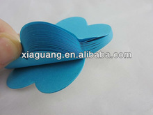 High quality promotional shaped notepad adhesive