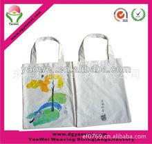 ECO friendly cotton bag/canvas cotton shopping bag/shopping tote bag
