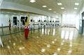 Suelo de pvc, haga clic en vinilo plank para estudio de baile
