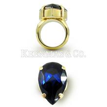 2013 sapphire ring, nable design, hot sale, delicate handicraft