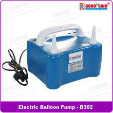 2 nozzles electric balloon air pump inflator