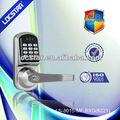 llave eléctrica cerradura de la puerta digital de código de la función