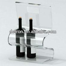 Transparent Acrylic Wine rack/wine bottle holder a242