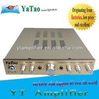 audio equipment plate reverb amplifier YT-AV338 with 5.0 channel