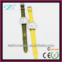 promotional custom logo watches pu leather strap new products christmas gift