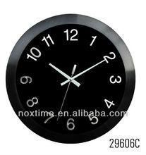 Aluminium wall Clock with arabic numbers dial