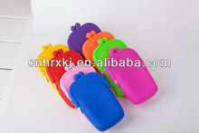 2012 France silicone fashion bags for girls purse silicone