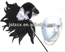 feather masquerade masks carnival decoration masks for couples