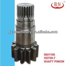 KATO HD700-7 Pinion Shaft Swing Motor Excavators