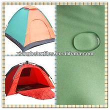 fabric tent waterproof PA/PU coating taffeta material