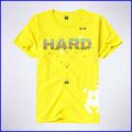 Alta calidad 100% algodón estampado camisetas, nuevas camisas del diseño 2013