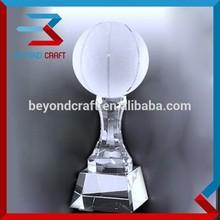 crystal basketball trophies crystal awards