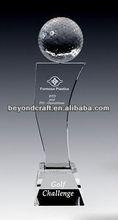 Fashion ball souvenir ,Crystal Trophy, high quality craft