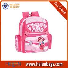 Eco-friendly customized durable Japanes trendy girls waterproof school bags