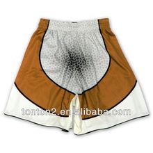 custom plain latest design fancy sublimation printed board shorts