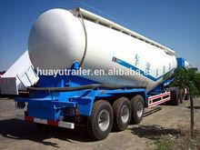 bulk cement tank semi trailer with 6mm tank body 3axles