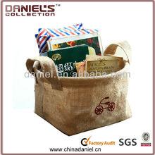 Lovely hemp bag for table use / jute basket