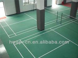indoor vinyl flooring roll, pvc sports flooring for table-tennis court