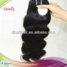 Factory wholesale combodian human hair weave