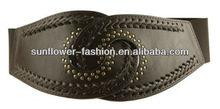 Yiwu City PU elastic hipbelt with scalloped edges