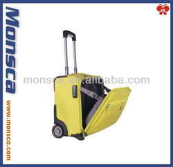Beauty and fashionable computer trolley luggage /
