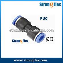 Puc compacto unión recta Pneumatic Connectors