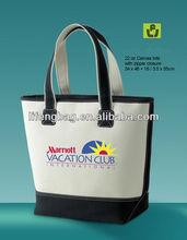 2013 latest design canvas bags women handbag