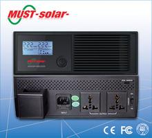 MUST Solar-mini inverter ups price in china 600watt dc12v 220v 50hz