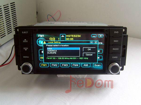 Car auto parte accesorios DVD reproductor de MP3 para Jeep Wrangler \ brújula