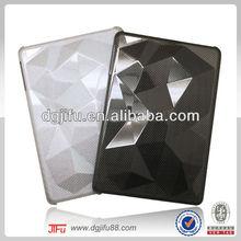 for iPad mini diamond carbon fiber case,3D carbon fiber case for iPad mini,for iPad case china supplier