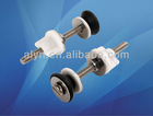 Toilet tank fittings of stainless steel bolts