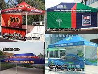 Outdoor function pop up display tent