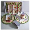 Melamine Christmas plates & trays
