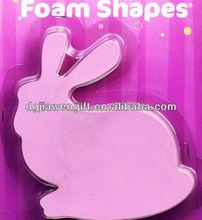 Kids Craft Rabbit EVA foam shapes