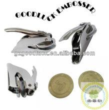 Portable monogram press/Pocket pattern embossing seal