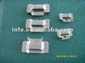 cintas de açoinoxidável com dentes tipo braçadeiras