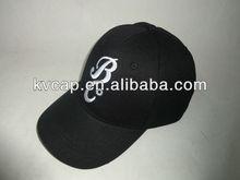 Polo Baseball Golf Tennis Cap Black with White Big Logo Outdoor Ball Cap New