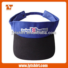 Cheap embroidery visor cap sun visor cap