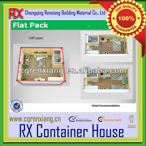 Chongqing Exquisite Foldable Prefab Modular Container Hotel