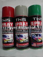 450ml ISO9001 F1 Auto Car Paint Metallic Colors