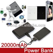 Good quality smart universal 20000mah portable power bank for laptop
