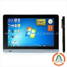 Windows 7 tablet pc 10inch allwinner a10 tablet