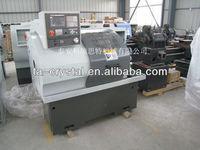 CK6132A cnc metal lathe circle metal pipe threading machine bed