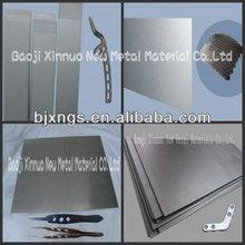 Stable quality brightness ti6al4v titanium plates grade 5