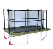 cheap big square trampoline