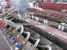 Wood Plastic Decking Board PVC Profile Machine