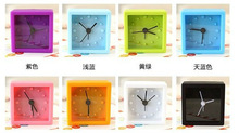 2013 Kids/girls/ladies promotion gifts silicone desk&table clocks