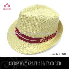wholesale summer paper fedora hat cheap straw hats cap