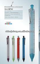 Ruler design triangular novelty pen