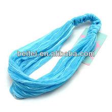 Polyester zigzag elastic tube bandana head tube bandana